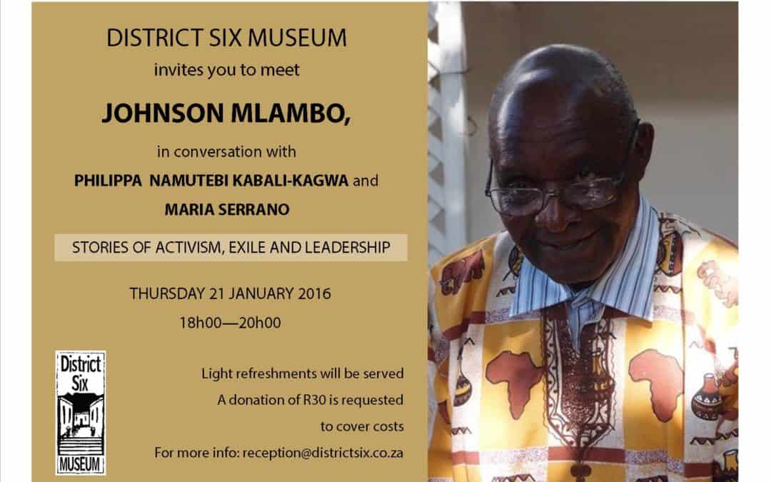 Stories of activism, exile and leadership