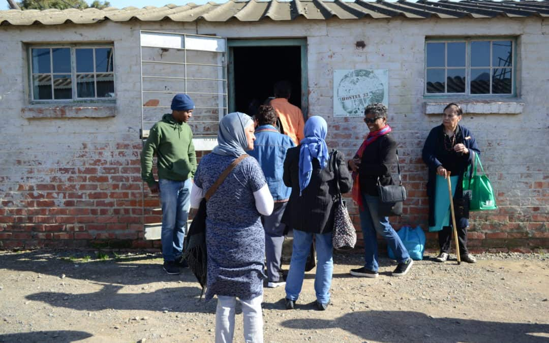 District Six staff and Seven Steps members visit Lwandle Migrant Labour Museum