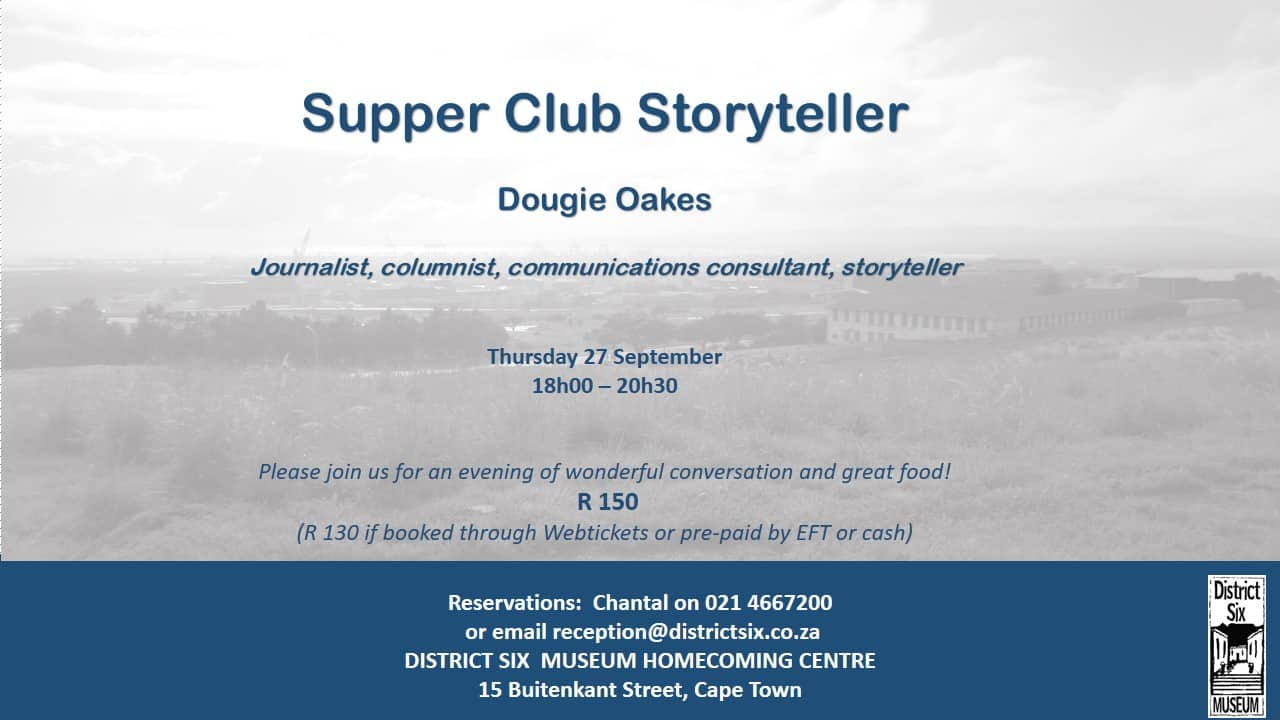 SEPTEMBER SUPPER CLUB
