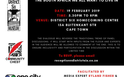 Interactive Discussion The South Africa we all want to live in
