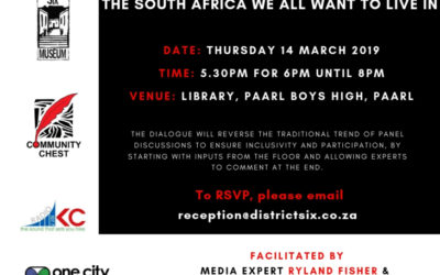 Interactive discussion (2): the South Africa we all want to live in